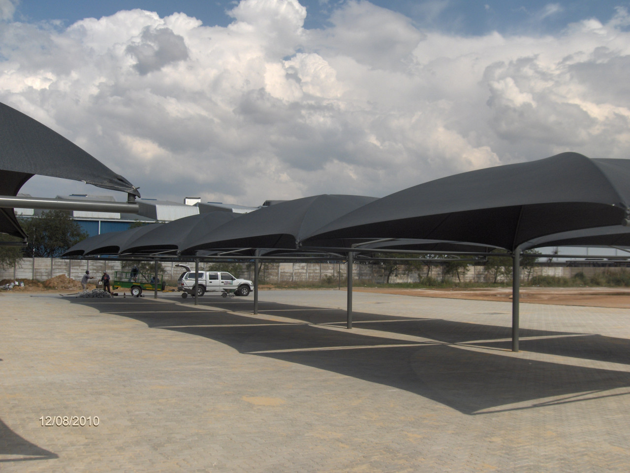Light Steel Frame Structures Cape Town South Africa: Shade Ports
